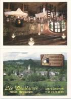 -63- COMPAINS Format Carte Postale - Rainée - Pour Faire Carte De Visite  Bar Restaurant Les Diablaires COMPAINS - Cartes De Visite