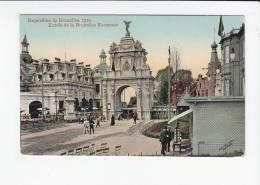 BRUXELLES / BRUSSEL / EXPO 1910 / BRUXELLES KERMESSE / ENTREE - Monumenten, Gebouwen