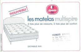 Buvard  Nouveau Les Matelas Multispire EPEDA Cachet Meubles Holtzer Romans Drome - Carte Assorbenti
