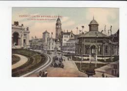 BRUXELLES / BRUSSEL / EXPO 1910 / COTE EST DU JARDIN DE BRUXELLES - Wereldtentoonstellingen