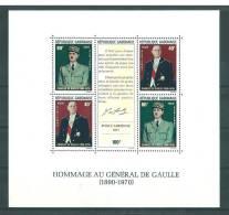 Gabon: BF 17 Et 20 **  Général De Gaulle - Gabon (1960-...)