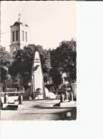 LAMBESE - LE MONUMENT AUX MORTS ET LE CLOCHER DE L'EGLISE
