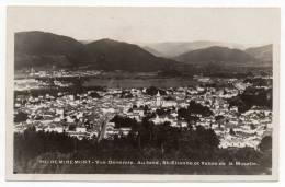 Cpa Photo 88 - Remiremont - Vue Générale - Au Fond, St-Etienne Et Vallée De La Moselle - Remiremont