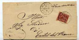 Un Annullo Per Paese - Campagnatico (Grosseto) - 1900- GC Unico Annullatore - Italia