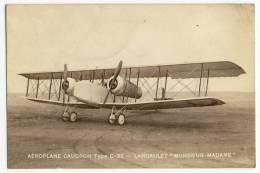 """AEROPLANE CAUDRON Type C-33 - LANDAULET """"MONSIEUR-MADAME"""" - 1919-1938"""