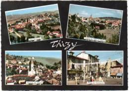 Thisy - Multivues (église, Place Du Commerce, ...) - Thizy