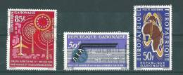 Gabon: PA  13 + 17/ 18 Oblit - Gabon (1960-...)