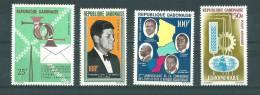 Gabon: PA 22 - 23 - 28 - 29 * - Gabon (1960-...)