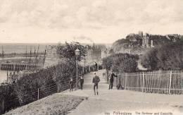 ANGLETERRE - FOLKESTONE - The Harbour And Eastcliffe - Folkestone