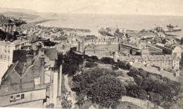 ANGLETERRE - FOLKESTONE - Bird's Eye View And Harbour - Folkestone