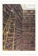 Le Goût Des Livres - Bibliothèque - Peinture à L´huile De Monique Le Béguec - 1989 - - Bibliothèques