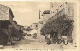 ST SAUVEUR DE CRUZIERE . ENTREE DU VILLAGE - Autres Communes