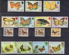 ANGUILLA    PAPILLONS  YVERT N°92/5 **MNH      Réf  1620 - Schmetterlinge