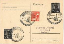 2747. Tarjeta FRANKFURT (Alemania) 1948,  National Versammlung - Zona Anglo-Américan