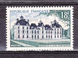 FRANCE / 1954 / Y&T N°  980 ** : Château De Cheverny - Gomme D´origine Intacte - Ungebraucht