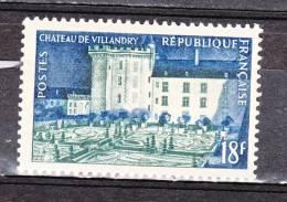 FRANCE / 1954 / Y&T N°  995 ** : Château De Villandry - Gomme D´origine Intacte - Ungebraucht