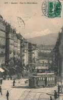 SUISSE - GENEVE - Rue Du Mont Blanc (tramway En Gros Plan) - GE Geneva