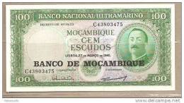 Mozambico - Banconota Non Circolata Da 100 Scudi P-117a - 1976 - Mozambique