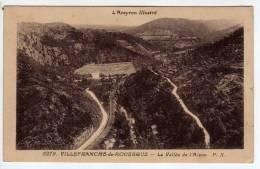 12 - Villefranche De Rouergue - La Vallée De L'Alzou - Edition Poux - Villefranche De Rouergue