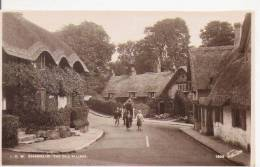 SHANKLIN 1905  I O W THE OLD VILLAGE (CARTE PHOTO) 1934 - Angleterre