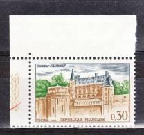 FRANCE / 1963 / Y&T N° 1390 ** : Château D´Amboise - Gomme D´origine Intacte - Ungebraucht