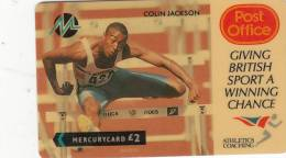 UK - Colin Jackson(PYPO001), CN : 5PPOA, Used - United Kingdom
