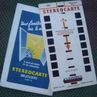 Stéréocarte N° 2001 Strasbourg Série 1 / Edition Bruguière Stéréofilms Fabriqué En France Paris - Photos Stéréoscopiques