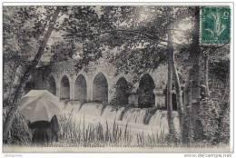 Griselles Le Gril De Corbelin Pont Construit Par Les Moines Cpa Bon état - Francia