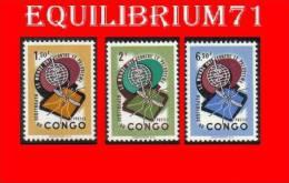 "462/464** ""Anti-paludisme"" / ""Anti-malaria""  - CONGO - République Du Congo (1960-64)"
