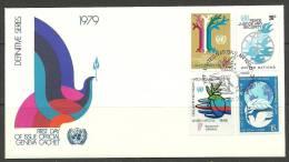 United Nations New York 1979 FDC Naciones Unidas UN - Lettres & Documents