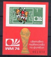 FOOTBALL - BULGARIE - BLOC N° 45a **  NON DENTELE - Coppa Del Mondo