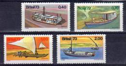 BRESIL - N° 1079/82 **  BATEAUX - Schiffe