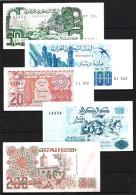 Algérie - Algeria Lot De 5 Billets Différents Neufs UNC - Algérie
