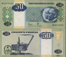 Angola Billet De 50 Kwanzas Pick 146 Neuf 1er Choix UNC - Angola