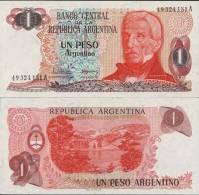 Argentine - Argentina Billet De 1 Peso Argentino Pick 311 Neuf 1er Choix UNC - Argentine