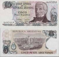 Argentine - Argentina Billet De 5 Pesos Argentino Pick 312 Neuf 1er Choix UNC - Argentine