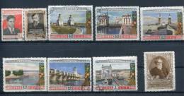 Russia 1953 Mi 1667-8,1669-5 Used Complete Sets - 1923-1991 USSR