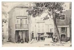 BOUCHES-DU-RHÔNE  /  GRANS  /  PLACE , GRANDE  RUE  ( Boucherie ) - Non Classés