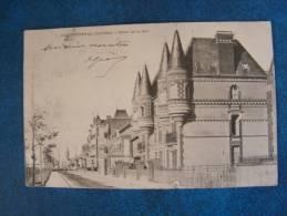 CPA..BEUZEVAL..HOTEL DE LA MER..PETITE COUPURE EN BAS..DOS SIMPLE..1903..ADRESSEE A VILLEGONGIS PAR LEVROUX.. - France