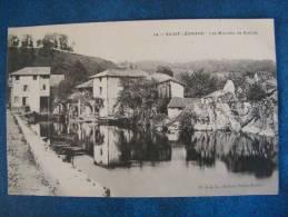 CPA...SAINT LEONARD..LES MOULINS DE NOBLAT..1907 - Frankrijk