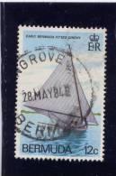 Bermuda, 1983,  USED  # 437,  FITTED DINGHIES - Bermudes