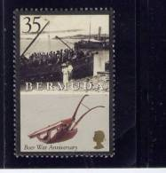 Bermuda, 2001, USED # 808,  CROWDED BOAT PLOW, BOER WAR 100TH ANNIV. - Bermudes