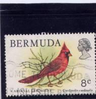 Bermuda, 1978-9, USED # 367,  CARDINAL - Bermudes
