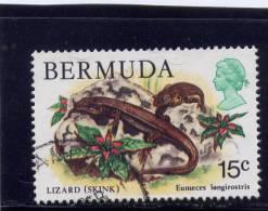 Bermuda, 1978-9, USED # 370,   SKINK - Bermudes