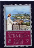 Bermuda, 1977,  USED  # 347,  QUEEN'S VISIT TO BERMUDA - Bermudes