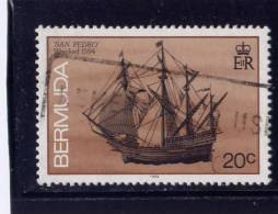 Bermuda, 1986, USED # 488,   SAN PEDRO 1594 - Bermudes