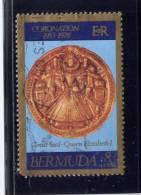 Bermuda, 1978,  USED # 360, GREAT SEAL OF Q E 11 - Bermudes