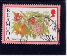 Bermuda, 1994-95,  USED # 673,  Pomegrate - Bermudes