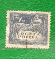15 POLONIA 1919-Gobierno Prov.- Sellos Emitidos Por Polonia Del Norte, Ocupada Por El Ejercito Alemán - ....-1919 Provisional Government