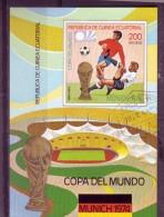 GUINEE EQUATORIALE   BF (138)  Oblitere   Cup 1974  Football  Fussball Soccer - Coppa Del Mondo